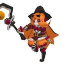 新ロボ「P・モーナ」コズミックアークに登場!同時にハロウィンイベント開催!