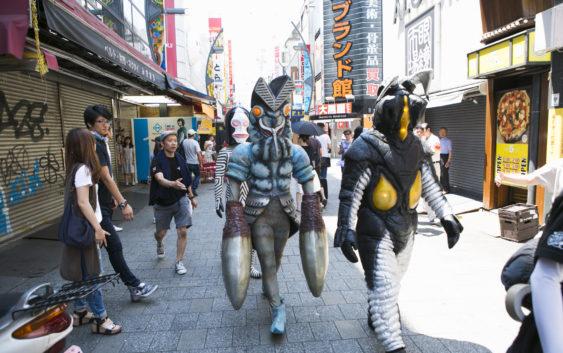 『モンスターストライク』都内各所に『ウルトラ怪獣たち』が出没!!外出の際はご注意ください。